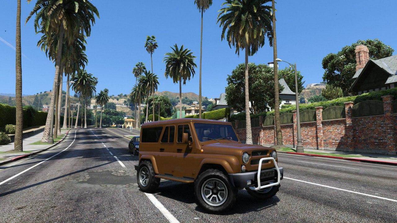 УАЗ 3159 Барс [Final] для GTA V - Скриншот 1