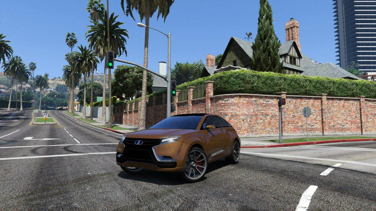 Lada XRAY для GTA V - Скриншот 1