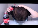 Кока-Кола вместо геля, мусса и лака для волос