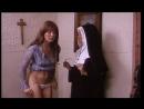 Монашка наказывает розгами, молодую девушку по голой жопе