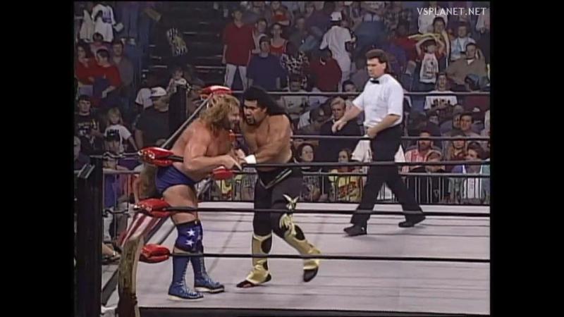 Meng vs Jim Duggan, WCW Monday Nitro 16.10.1995