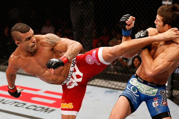 Вертушки в смешанных единоборствах MMA