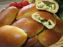 Рецепт Пирожки с яйцом и зелёным лучком