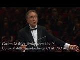 Gustav Mahler Symphony No. 9 (Gustav Mahler Jugendorchester, Claudio Abbado)