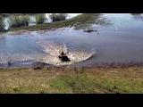 Stels Leopard тоже плавает!
