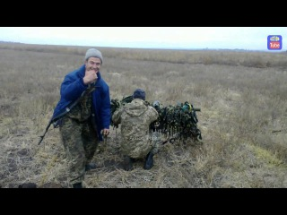 СПГ ВСУ по позициям сепаров/Ukr GUN at separs