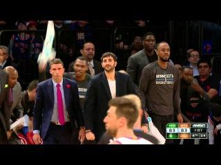HD Minnesota Timberwolves vs New York Knicks | Full Highlights | March 19, 2015 | NBA