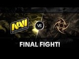 Final fight! by Na`Vi New Squad vs NiP @ D2CL V