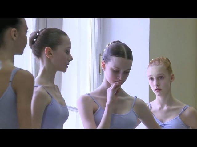 Vaganova Ballet Academy. Classical Dance Exam. Girls, 4th class. 2015