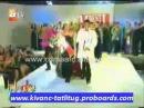 Kivanc Tatlitug with Mehmet Akif Alakurt in Best Model in Turkey Celebration