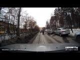 ДТП на Свердлова с транспортным коллапсом - Снежинск 6 ноября 2014
