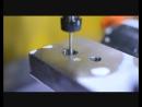 Обработка отверстия эльборовой борфрезой