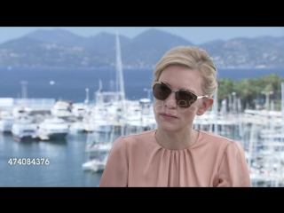 Interview - cate blanchett on the media reaction to her playing a lesbian at 'carol' interviews