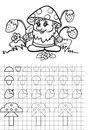 Раскраска математика для детей 5 лет