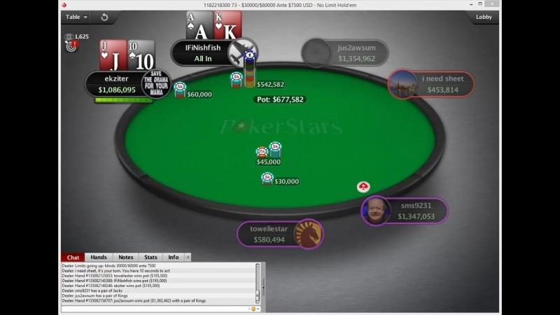 SCOOP-04-H $1,050 NL Holdem [Turbo], $500K Gtd, Replay