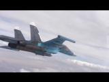 Видео из кабины пилота! Авиаудары по объектам ИГИЛ в Сирии (#россия, #сирия, #игил, #война, #вкс, #ввс, #рф)