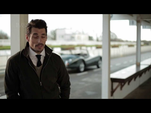 MS In the Moment With David Gandy - 2014