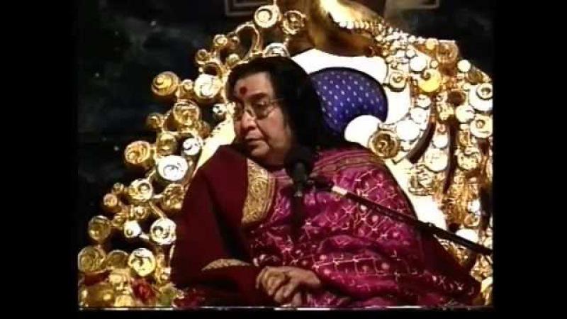 Пуджа Наваратри /1996/ - Лекция Шри Матаджи