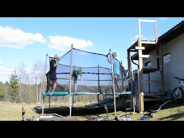 Extreme Trampoline Tricks 4! (Cork 19, Landed triples, Quad, etc)