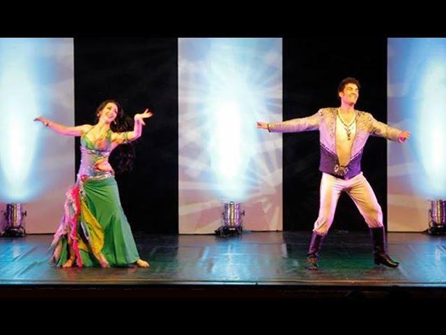 Wael Mansour Evelina Papazova - Oriental Duo -ETNA BELLY DANCE - Catania