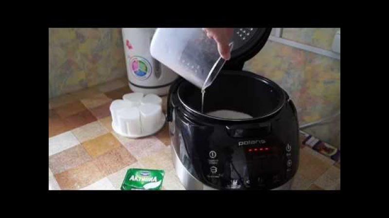 Как сделать йогурт в мультиварке с функцией 302