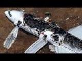 Сборка авиакатастроф и неудачных посадок самолетов | Январь 2015