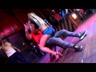 dance music hot babe on tv show