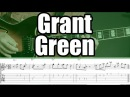 Grant Green guitar lesson Transcription 1 Grantstand solo backing track