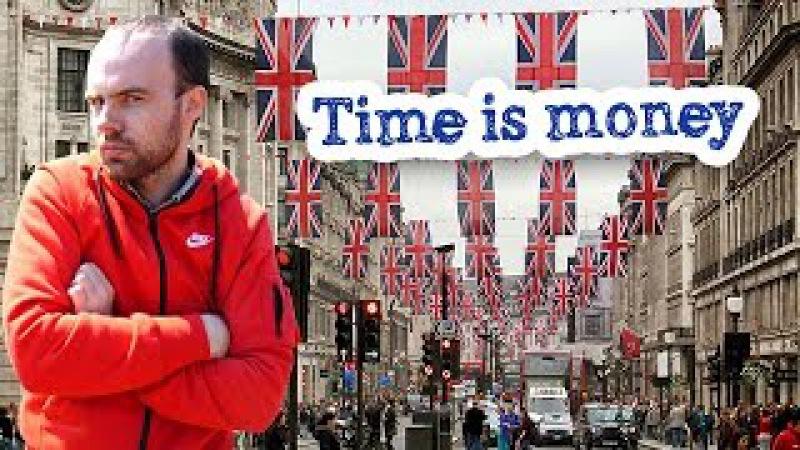 Время деньги на английском языке Time is money топик
