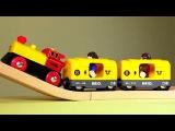 Мультфильм Поезд в Лондон: мультик для детей про игрушечные паровозики Брио