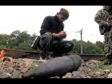 Боевики заминировали ж/д Иловайска перед отступлением