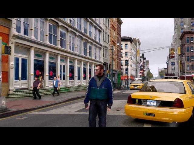GTA IV Natural Realistic ENB - Friends Enemies