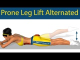 Prone Leg Lift Alternated