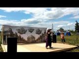 боевой танец с мечом от девушки из Твери