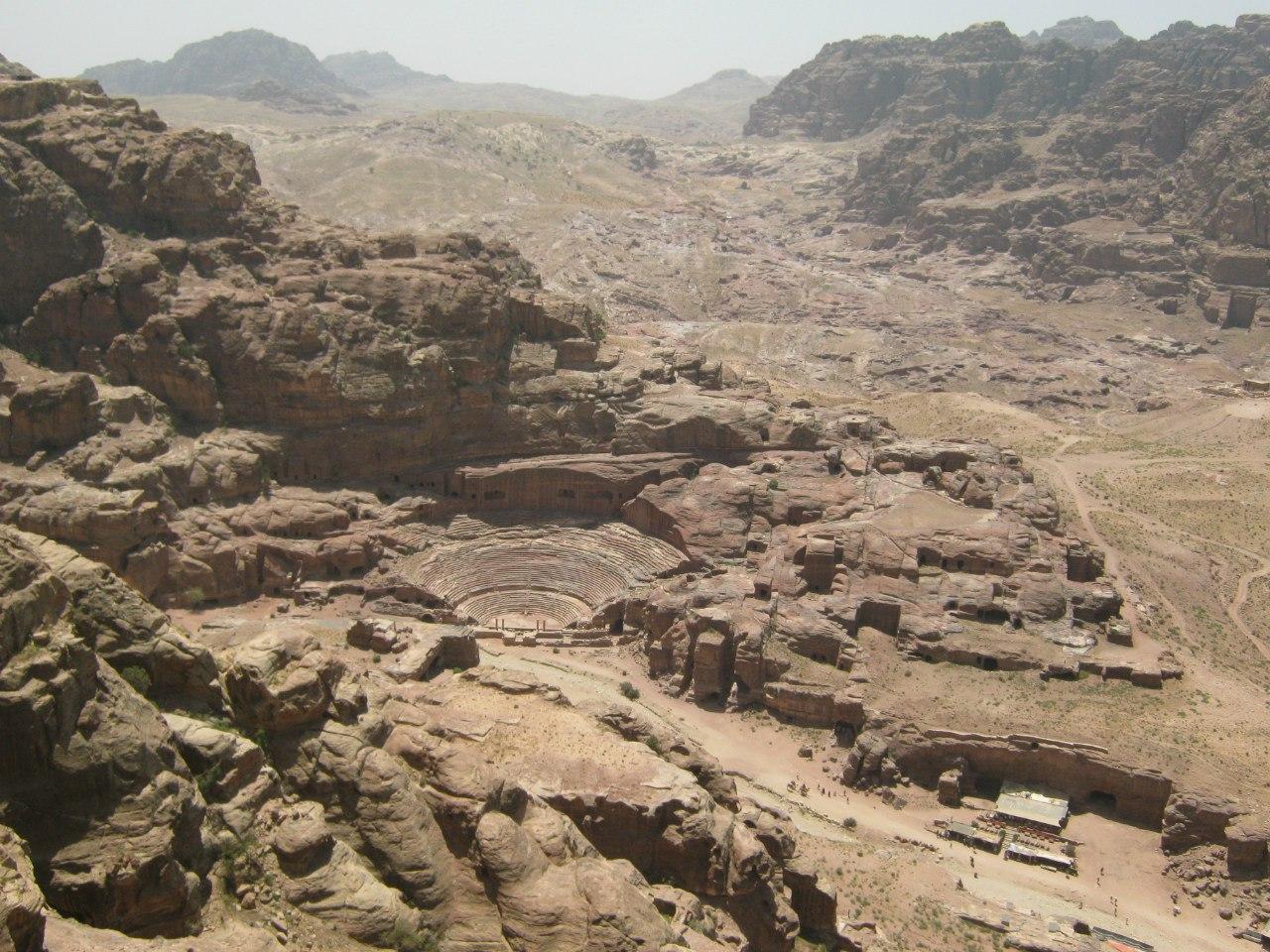 центр древнего города Петра