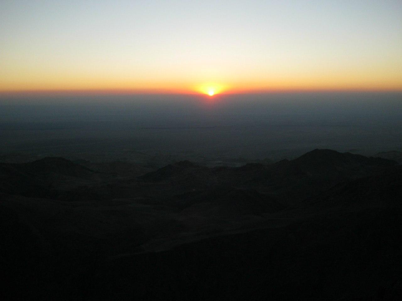 Закат в Петре
