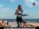Скрытая камера на пляже - YouTube