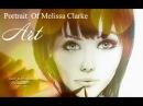 Drawing a Melissa Clarke Portrait by DFX