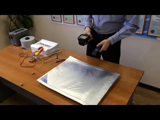 Тест защиты от перенапряжения нагревателя ЗЕБРА ЭВО-300