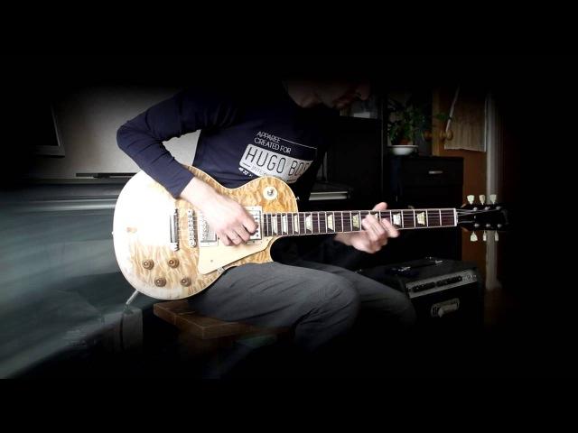 Zeitnot (original song - demo). Gibson Les Paul CS Korina Body