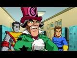 Отряд супергероев - Таинственное происшествие в школе мутантов - Сезон 1, Серия 18