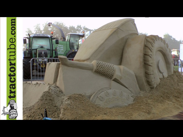 Sand-Fendt real Fendt 1050 Vario - Agrotechniek Holland Fendt Feldtag 2014 Wadenbrunn