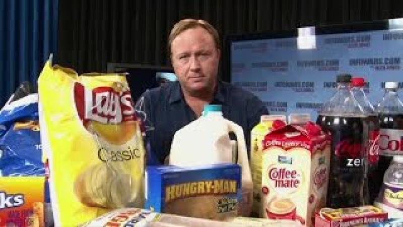 Алекс Джонс: Еда как оружие депопуляции / Еда в Америке