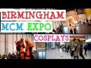 Birmingham MCM Expo November 2013 Cosplays