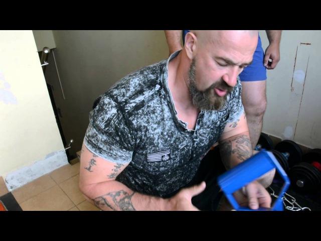 Практика с Бадюком • Зал для тренировки хвата_SBadyuk