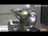 Шлем на CNC станке 1)