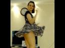 Amazing Upskirt Teen Cam Girl Dancing in Stunning Blouse. So Much Fun!!!