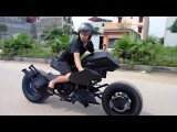 BATMAN BatMOBILE BiKE designed in VIETNAM -)