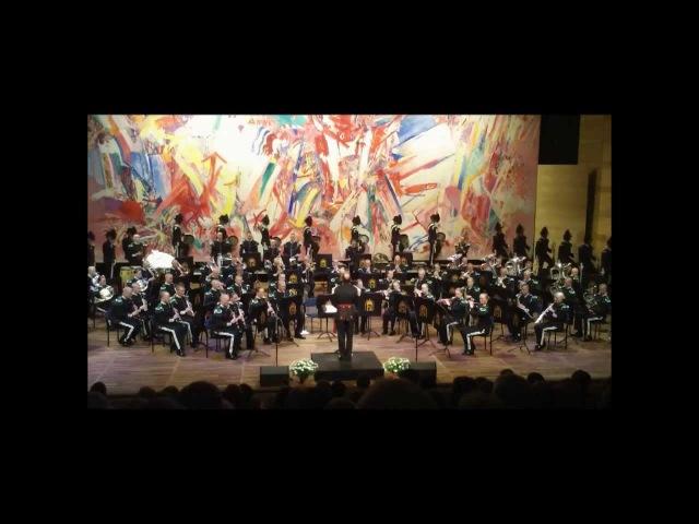 Шведские гвардейцы и королевский оркестр Норвегии
