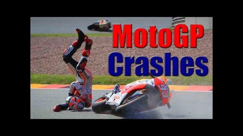 Moto Crash Compilation || MotoGP Crashes